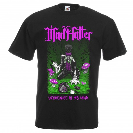 Mad Hatter t-shirt  (Black)