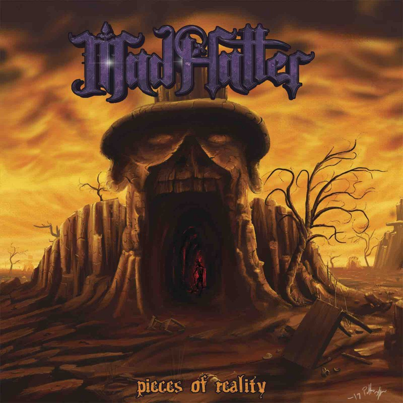 "Mad Hatter - ""Pieces Of Reality"" CD"