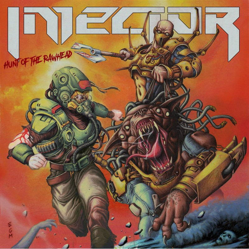 "Injector - ""Hunt of the Rawhead"" CD"