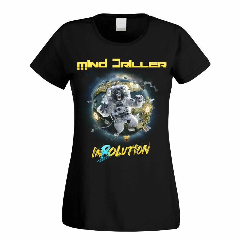 "Mind Driller - ""InBolution"" Girlie T-Shirt"