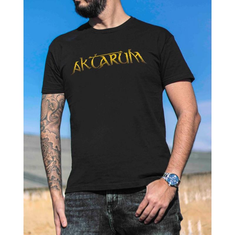 """Camiseta Aktarum """"Golden Logo"""""""