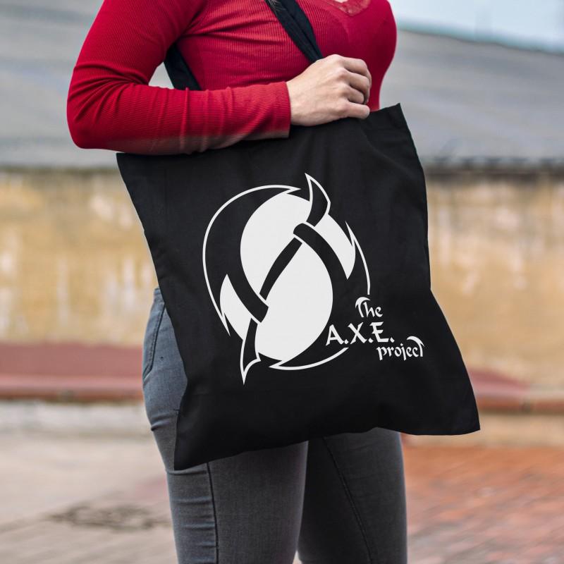 The A.X.E Project Logo Tote...