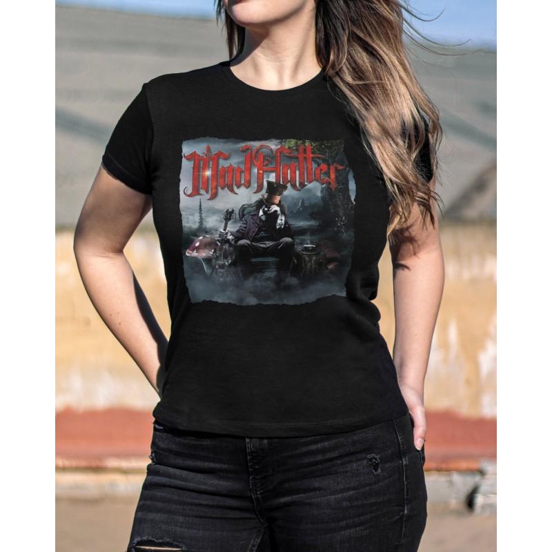 "Camiseta Girlie ""Mad Hatter"""