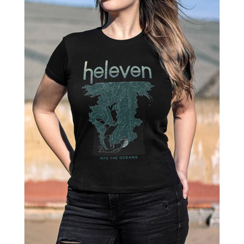 """Camiseta Girlie Heleven """"Wave"""""""