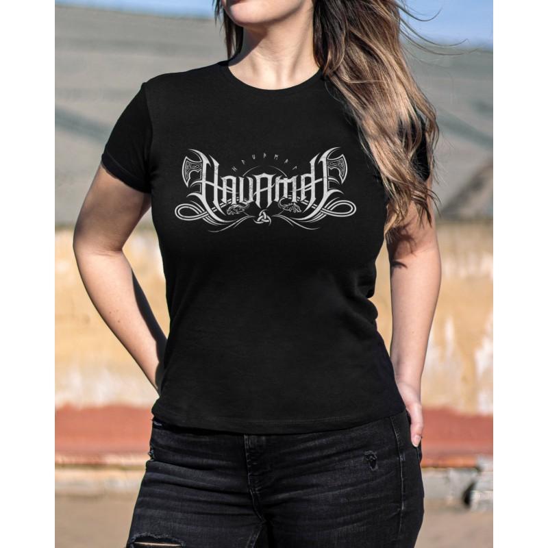 """Camiseta Girlie Havamal """"Logo"""""""
