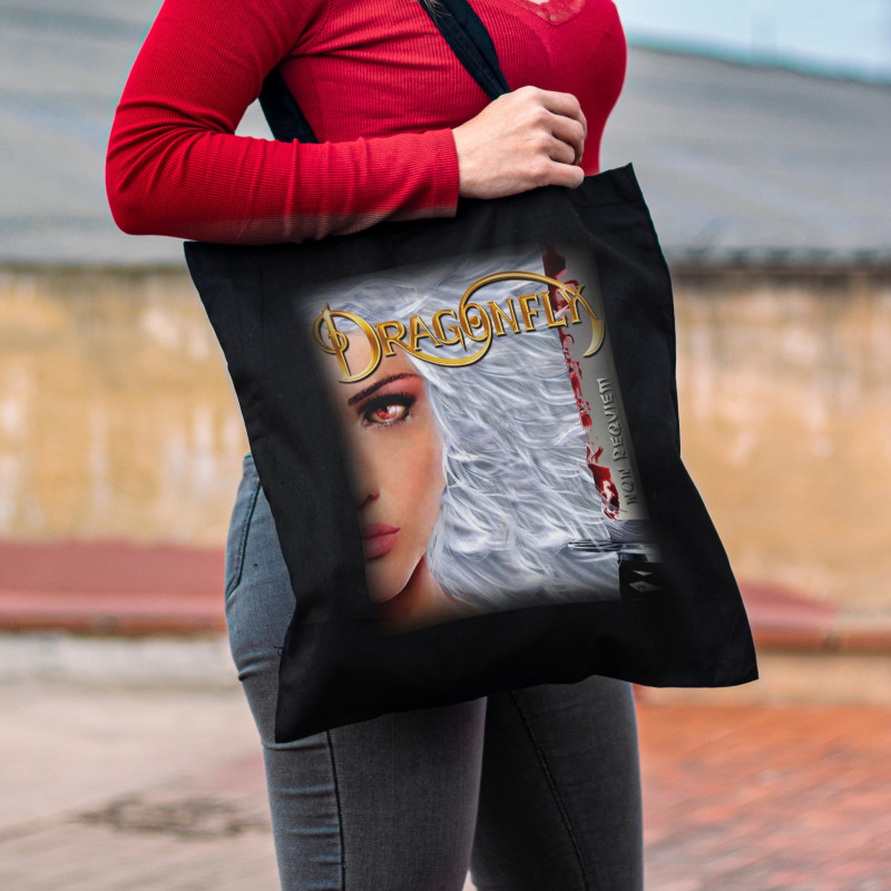 """Tote Bag Dragonfly """"Non..."""