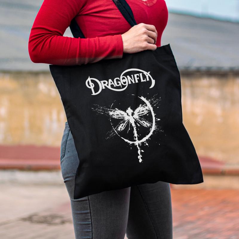 "Tote Bag Dragonfly ""Logo"""