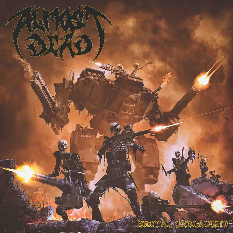 "Almost Dead - ""Brutal Onslaught"" CD (Preventa)"