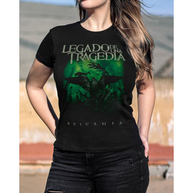 Camiseta Girlie Legado de...