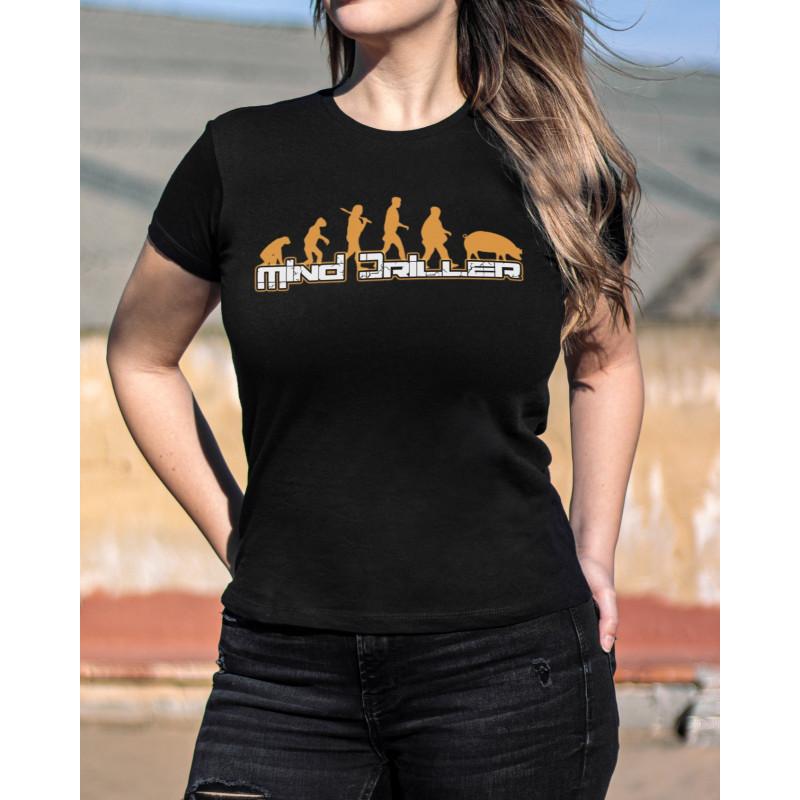 Camiseta Girlie Mind...