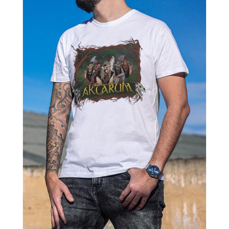 Camiseta Blanca Aktarum...