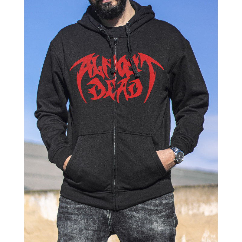 """Almost Dead """"Red Logo"""" Hoodie"""