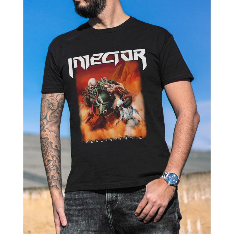 "Camiseta Injector ""Black..."