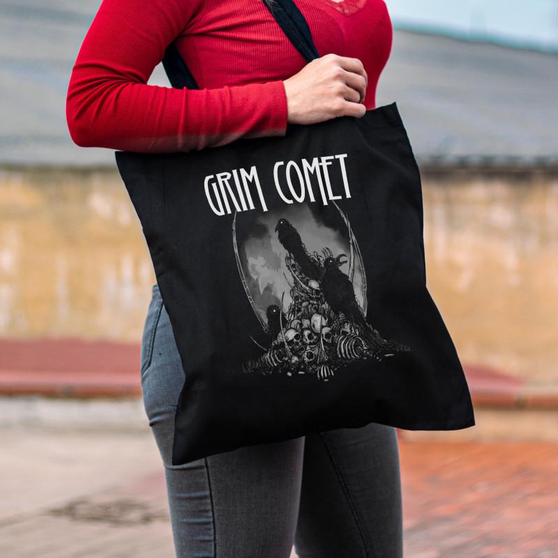 """Tote Bag Grim Comet """"Crows"""""""