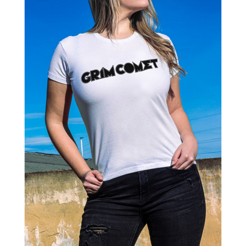 Camiseta Girlie Grim Comet...