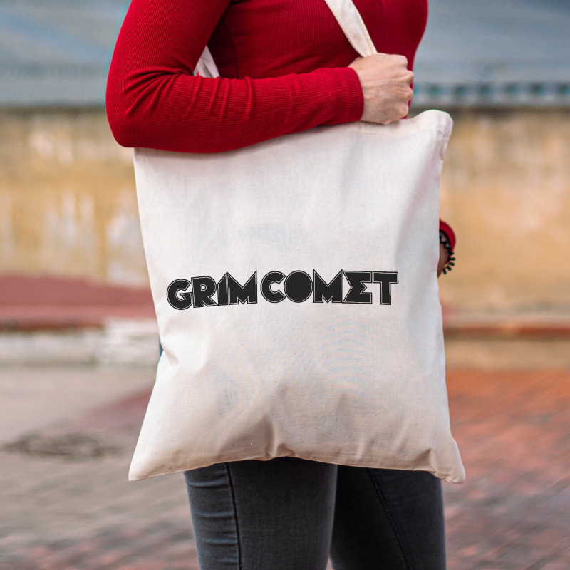 "Grim Comet ""Logo"" Tote Bag"