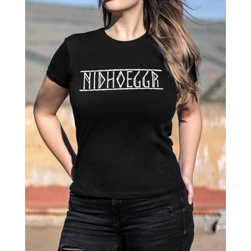 Camiseta Girlie Nidhoeggr...