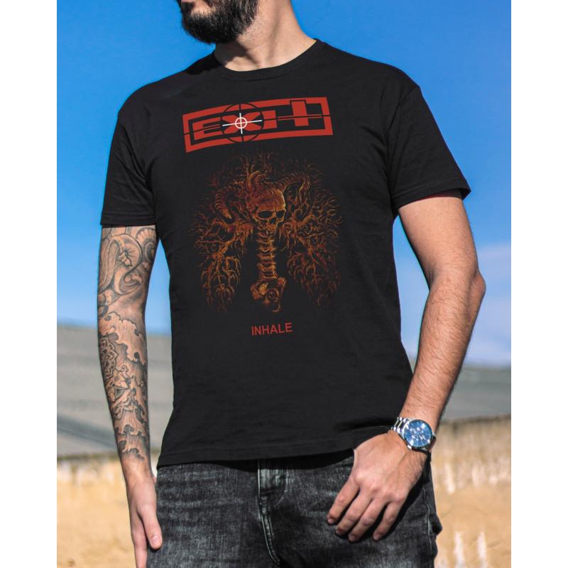 """Exit """"Inhale"""" T-Shirt"""