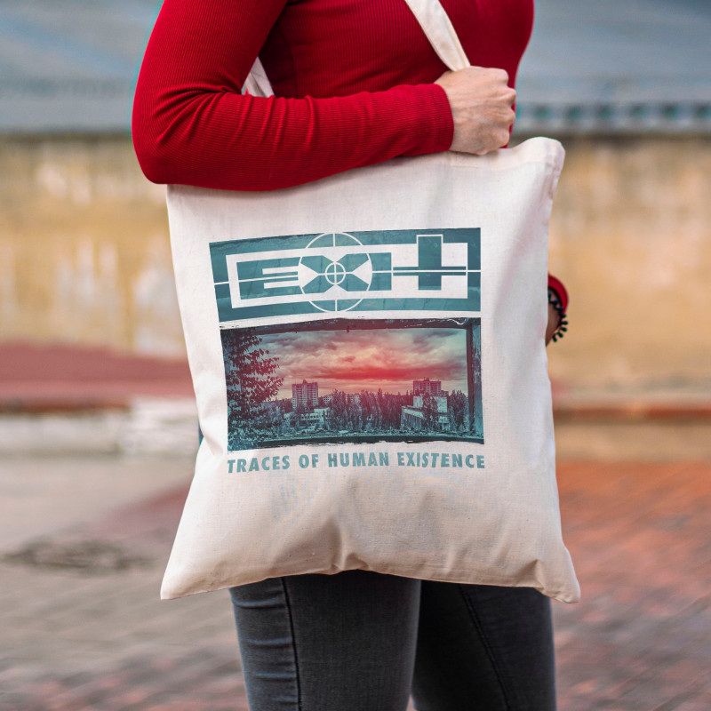 """Tote Bag Exit """"Traces Of..."""
