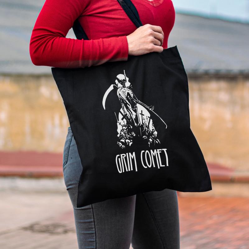"Grim Comet ""Skulls"" Tote Bag"