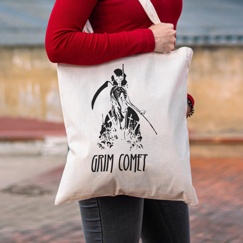 "Tote Bag Grim Comet ""Skulls"""