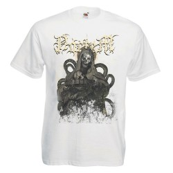 "Camiseta Noctem ""The Black Consecration"" (Blanca)"