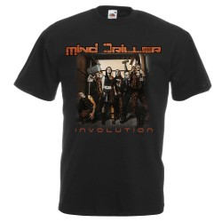 "Camiseta Mind Driller ""Involution"" (Negra)"