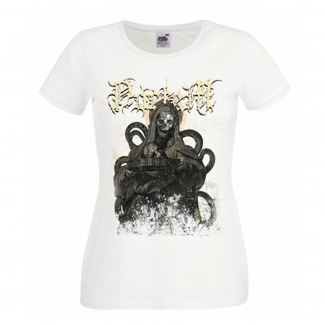 """Noctem girly t-shirt """"The Black Consecration"""" edition (White)"""
