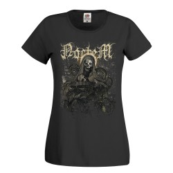 "Camiseta chica Noctem ""The Black Consecration"" (Negra)"
