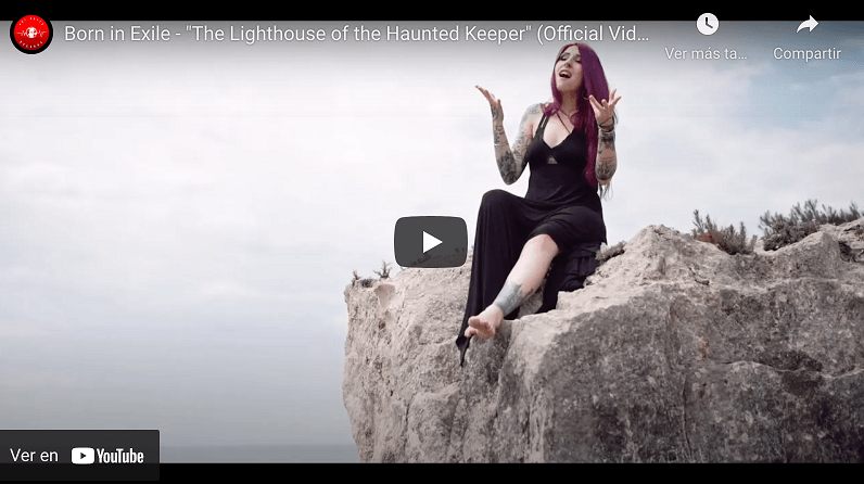 """BORN IN EXILE KEEPS HAUNTING US! NEW VIDEO FOR """"THE LIGHTHOUSE OF THE HAUNTED KEEPER"""""""